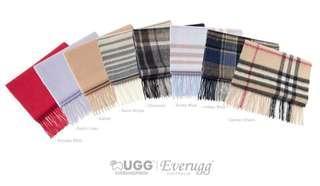 EverUGG Pure Wool Scarf, 168CM x 30CM, Soft Fashion Warm Winter