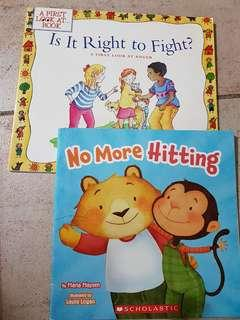 🚚 Children Books about Hitting