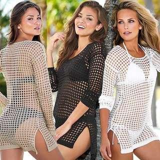 🚚 Beachwear, swimwear cover, crochet design