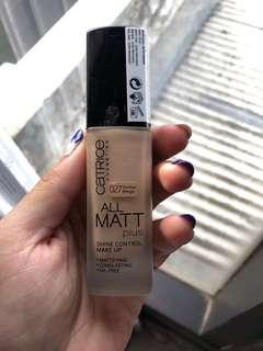 Catrice All Mat Plus Foundation