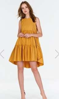 🚚 TCL Lorene Marigold Dress