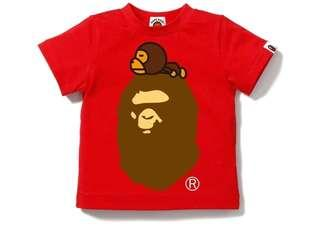 Bape Milo On Big Ape Tee (Kids)
