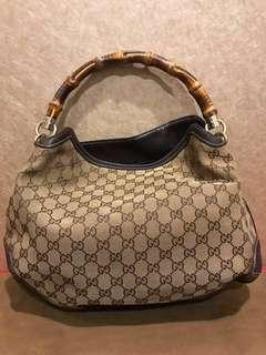 710302d24c9 Gucci Bamboo Hobo Hangbag · Gucci Bamboo Hobo Hangbag. S 600. Gucci Bamboo  Handle Bag With Original ...