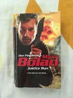 Mack Bolan Justice Run