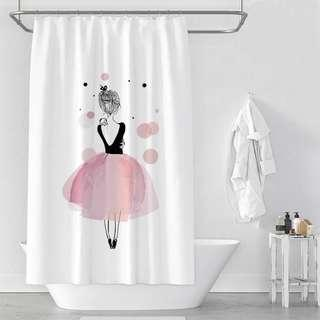 Lucille Shower Curtain | Bathroom Accessories
