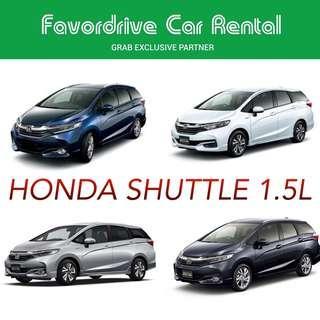 Honda shuttle 1.5L brand new