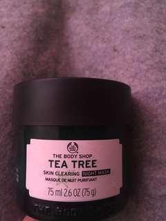 The body shop tea tree skin clearing night mask