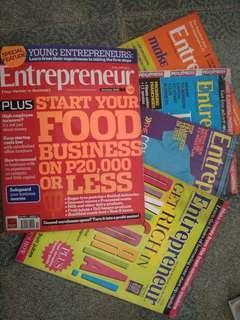 Assorted Entrepreneur Magazines 5 diff.