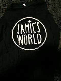 Jamie's world shirt