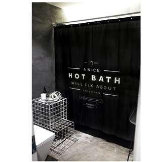 Hot Bath Shower Curtain | Bathroom Accessories