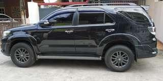 Fortuner VNT Turbo type G tahun 2014 diesel
