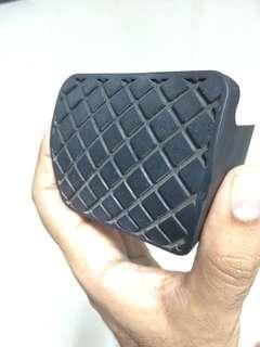 VW brake pedal rubber padding