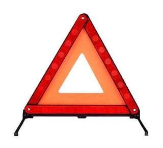 🚚 Warning Triangle Car Sign