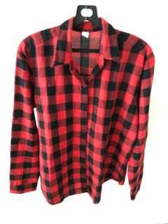 Lady Checked Blouse