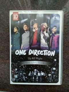 One direction up all night演唱會DVD