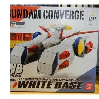 全新 FW gundam converge white base 白色基地 木馬號 未開 盒不完美 價可議