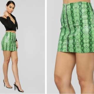 Fashion Nova Pick your Poison skirt