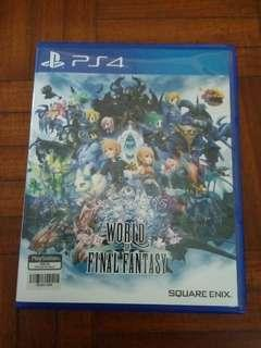 [FREE POSTAGE] World of Final Fantasy R2 ENG
