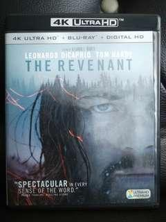 The Revenant 4k Ultra HD Blu-ray
