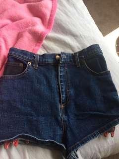 Stolen girlfriend shorts size 10