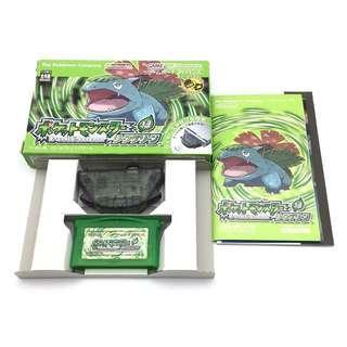 (中古) 原裝日版 GameBoy Advance GBA Game Pokemon Green 寵物小精靈 比卡超 綠版 角色扮演遊戲