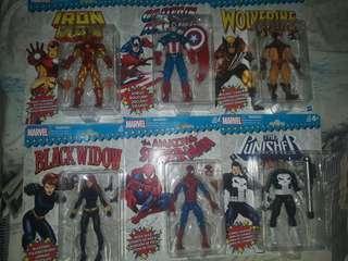 Marvel legends vintage wave set of 6