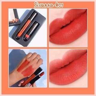 Sivanna Lipstick with Lipgloss Set