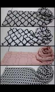 syal scarf motif murah meriah