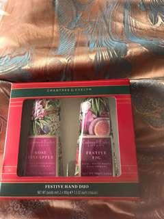 Crabtree & Evelyn handcream (Rose Pineapple & Festive Fig)