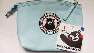 全新kinsman熊本熊防撥水化妝包