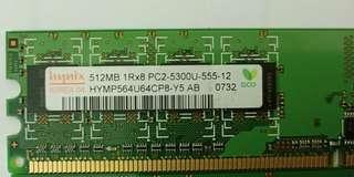 🚚 Used PC2 memory.