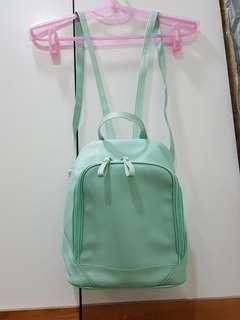 Tiffany 藍手工後背包