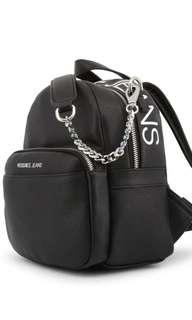 Versace jeans mini backpack bag black
