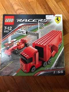 LEGO RACERS FERRARI F1 TRUCK GRAND PRIX