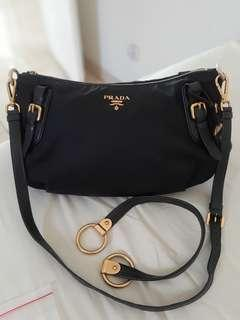 Prada authentic 2 strap mulus