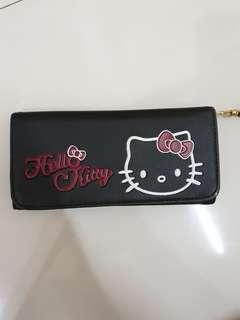 Dompet Hello Kitty black