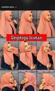 ❤ Segitiga Instants New Keren Hijab