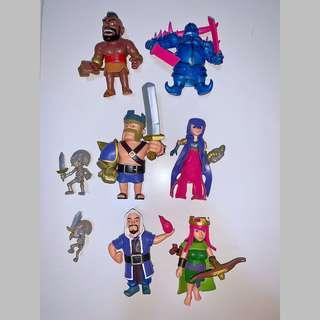 COC Clash Of Clans figures 12cm