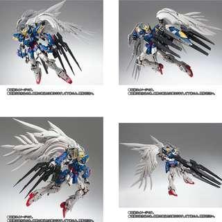 少量現貨 全新日版 100%完美啡盒未開 Bandai 超合金 GFF Wing Zero custom Gundam Fix Figuration Metal Composite #1016 MC W 高達