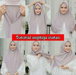 ❤ segitiga Instans Hijab