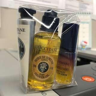 Loccitane Hand Balm Body Shower Oil Night Reset Oil in Serum