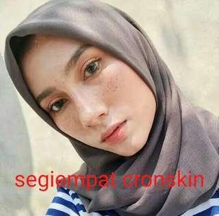 ❤ segiempat Croskin Hijab