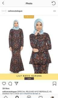 thecalice Lily Basic Kurung