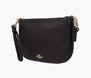 Coach Double Zipper Bag