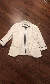 White RW&co blazer
