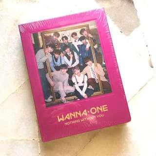 Wanna One Nothing Without You (One ver.)〰️Sealed & Ready stock