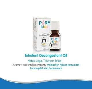 Pure - Baby & Kids - Inhalant Decongestant Oil