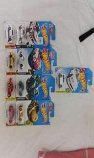 Lot hotwheels 3pcs rm25