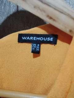 Warehouse Yellow Hellow Dress