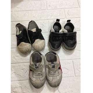 男寶 學步鞋  運動鞋 軟底鞋 男寶鞋子  3雙一起賣